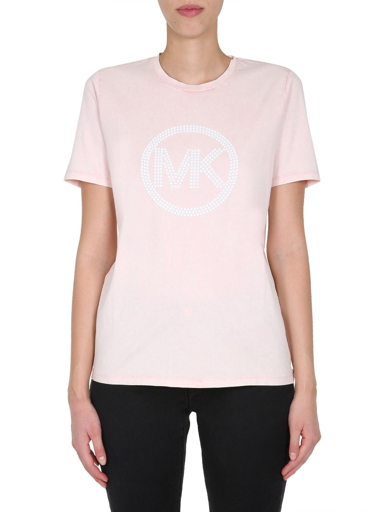 Round neck t-shirt - michael by michael kors - Modalova