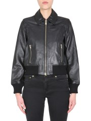 MICHAEL BY MICHAEL KORS - BOMBER IN PELLE