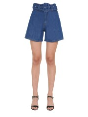 MSGM - SHORT IN DENIM