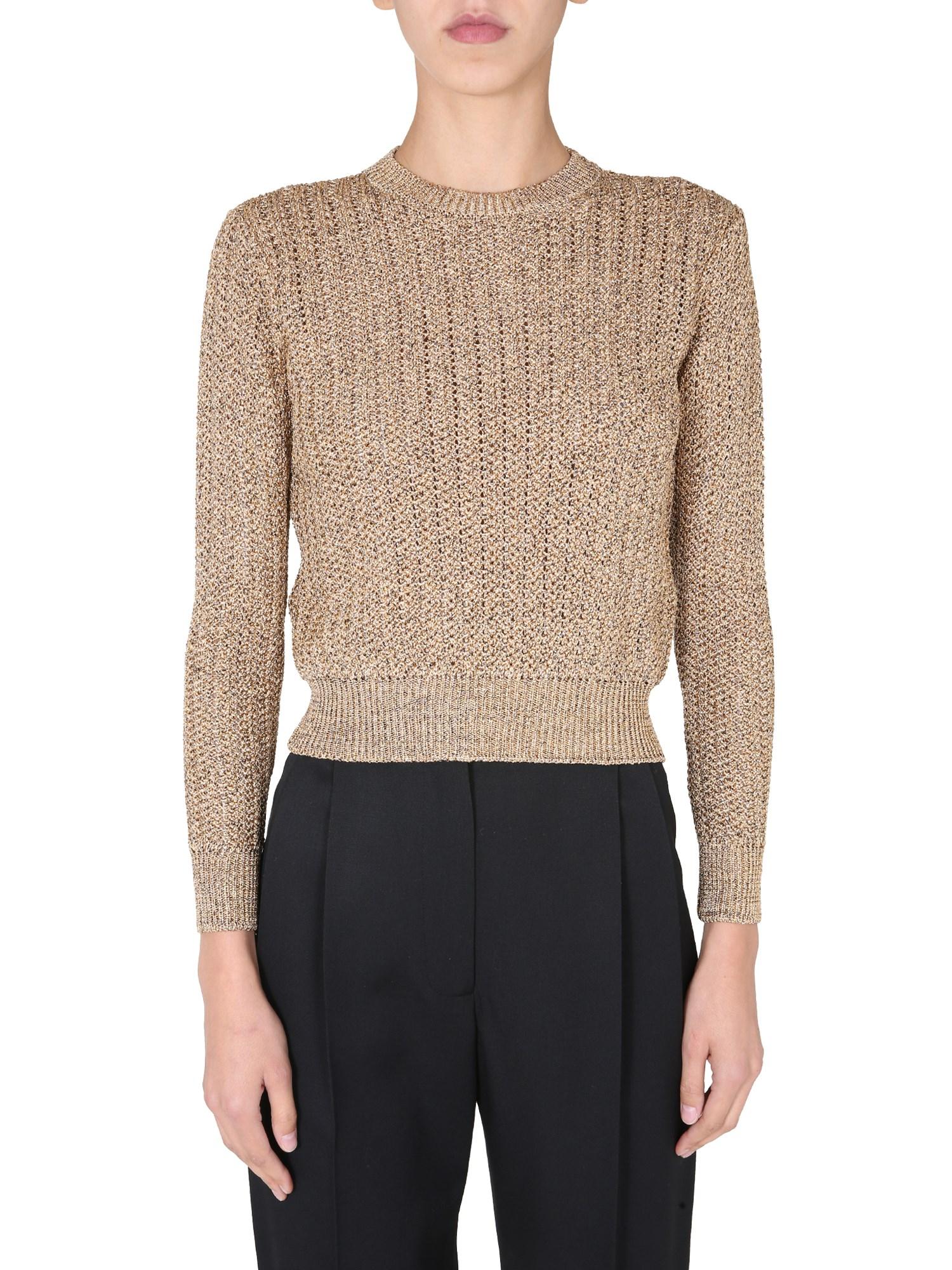 Saint Laurent Sweaters CREW NECK SWEATER