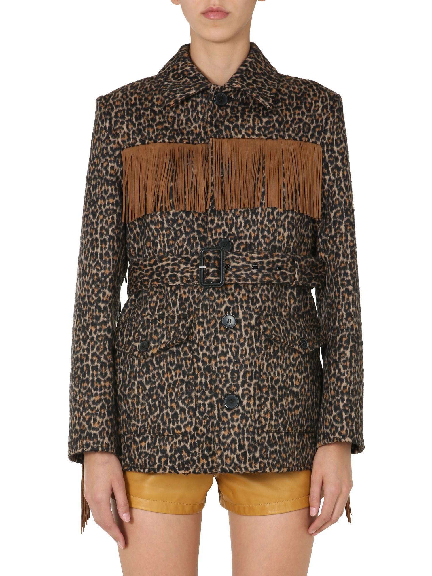 Saint Laurent Clothing JACKET WITH FRINGES