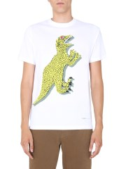 PS BY PAUL SMITH - T-SHIRT GIROCOLLO