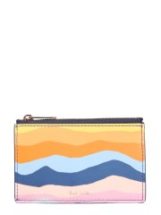 "PAUL SMITH - PORTACARTE ""MOUNTAIN STRIPE"""
