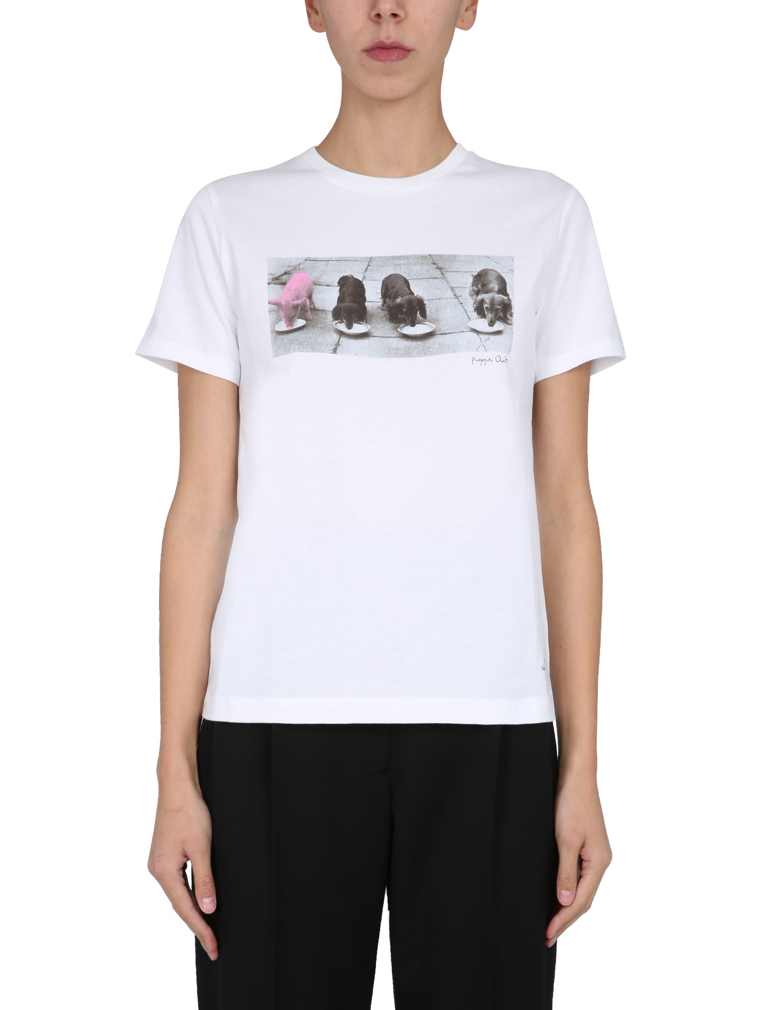 Ps By Paul Smith T-SHIRT SLIM FIT