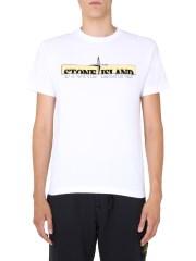 STONE ISLAND - T-SHIRT GIROCOLLO