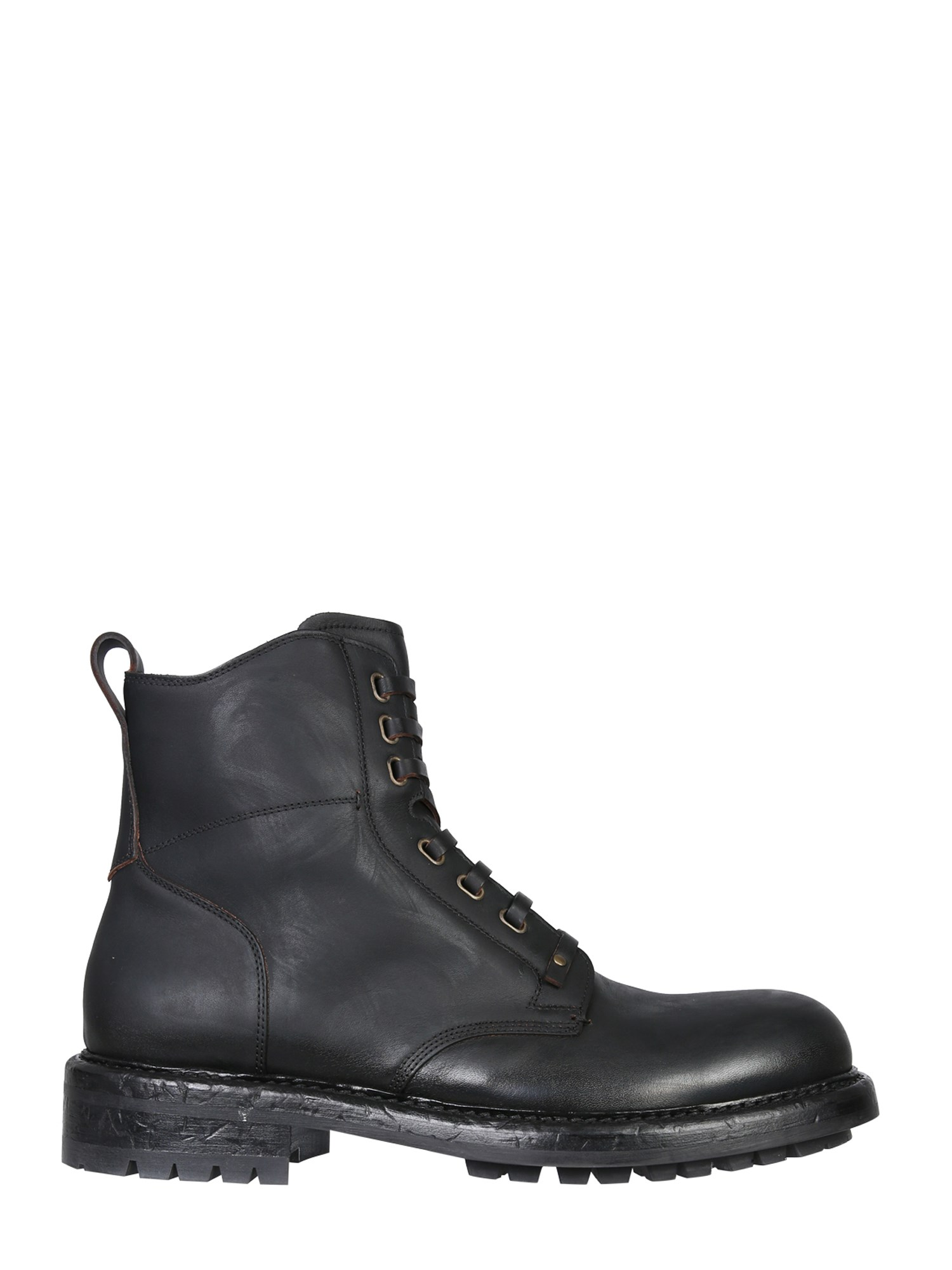 Dolce & Gabbana Shoes LEATHER BOOTS