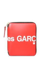 COMME DES GARCONS WALLET - PORTAFOGLIO ZIP AROUND