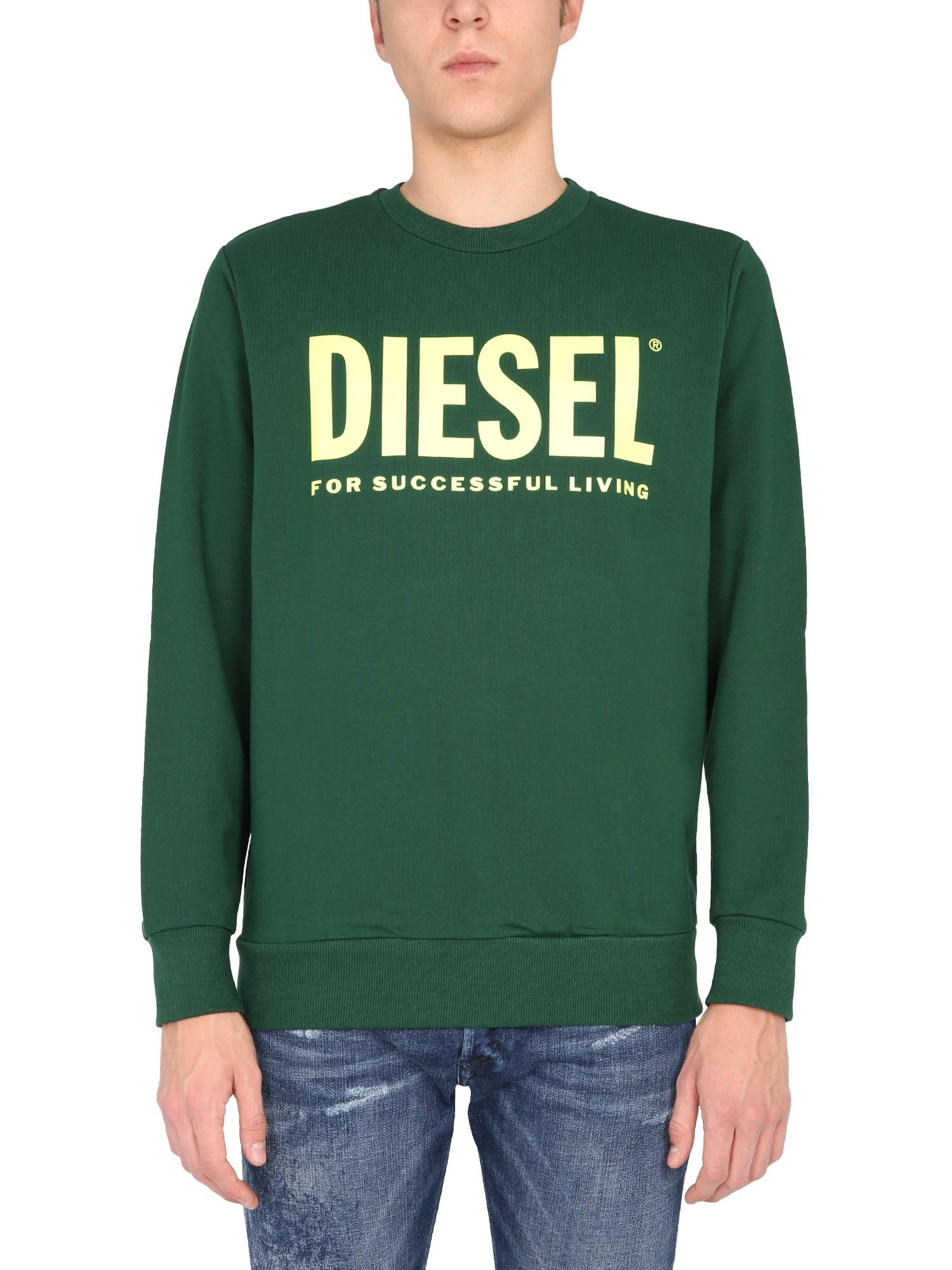 Diesel Clothing FELPA GIROCOLLO
