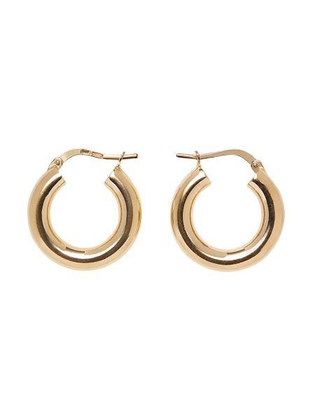 Bottega Veneta - Hoop Silver Earrings