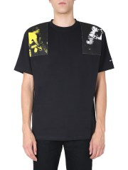 FRED PERRY X RAF SIMONS - T-SHIRT OVERSIZE FIT