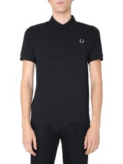 FRED PERRY X RAF SIMONS - POLO IN PIQUÉ DI COTONE