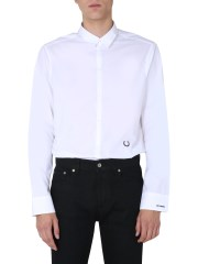 FRED PERRY X RAF SIMONS - CAMICIA SLIM FIT