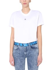 STELLA McCARTNEY - T-SHIRT GIROCOLLO