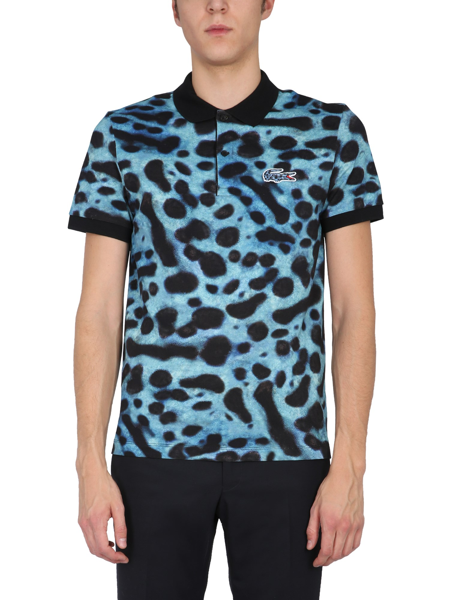 Lacoste X National Geographic Cottons REGULAR FIT POLO