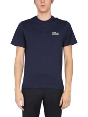 LACOSTE X NATIONAL GEOGRAPHIC - T-SHIRT GIROCOLLO