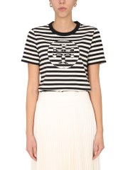 TORY BURCH - T-SHIRT GIROCOLLO
