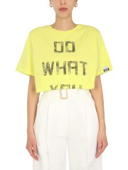 GOLDEN GOOSE DELUXE BRAND - T-SHIRT CON STAMPA