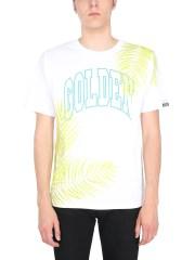 "GOLDEN GOOSE DELUXE BRAND - T-SHIRT ""GOLDEN PALMS"""