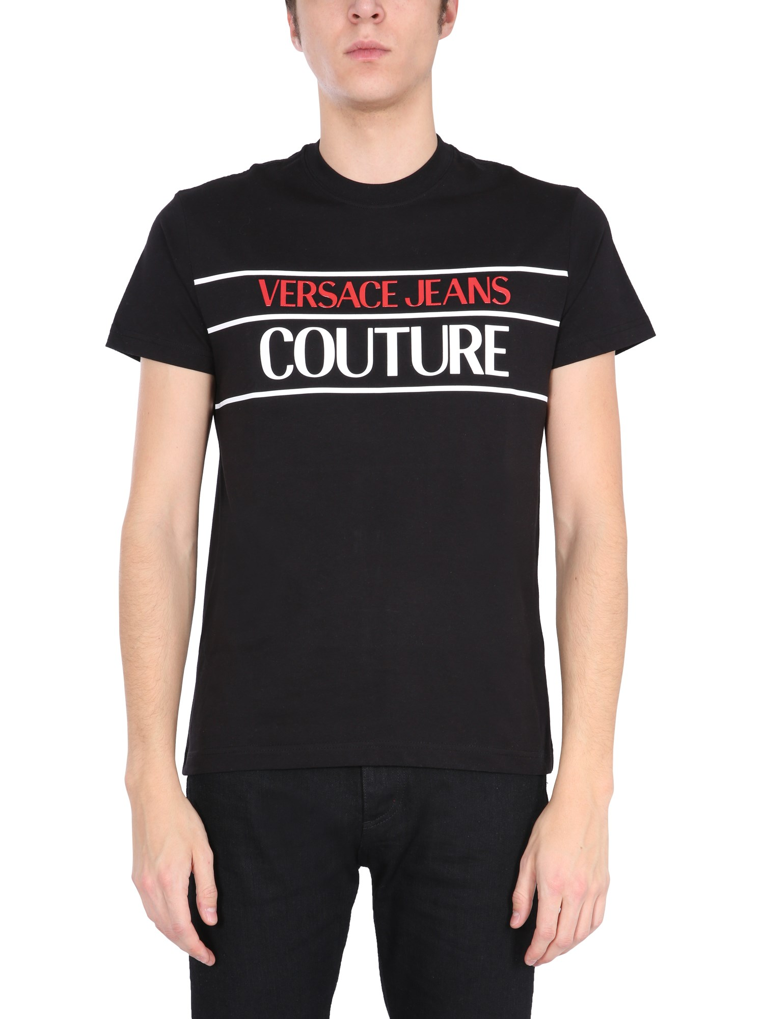 Versace Jeans Couture T-shirts T-SHIRT CON LOGO