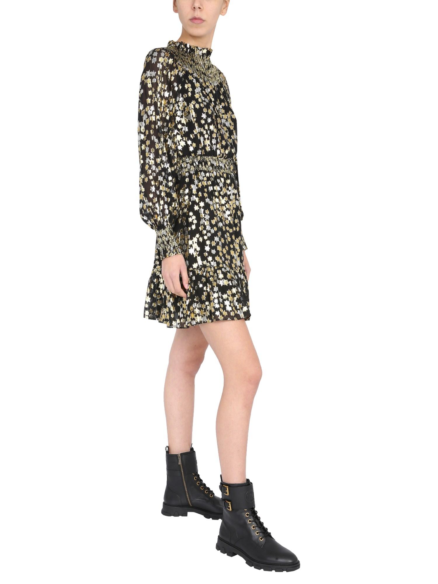 Mini dress with star pattern - michael by michael kors - Modalova