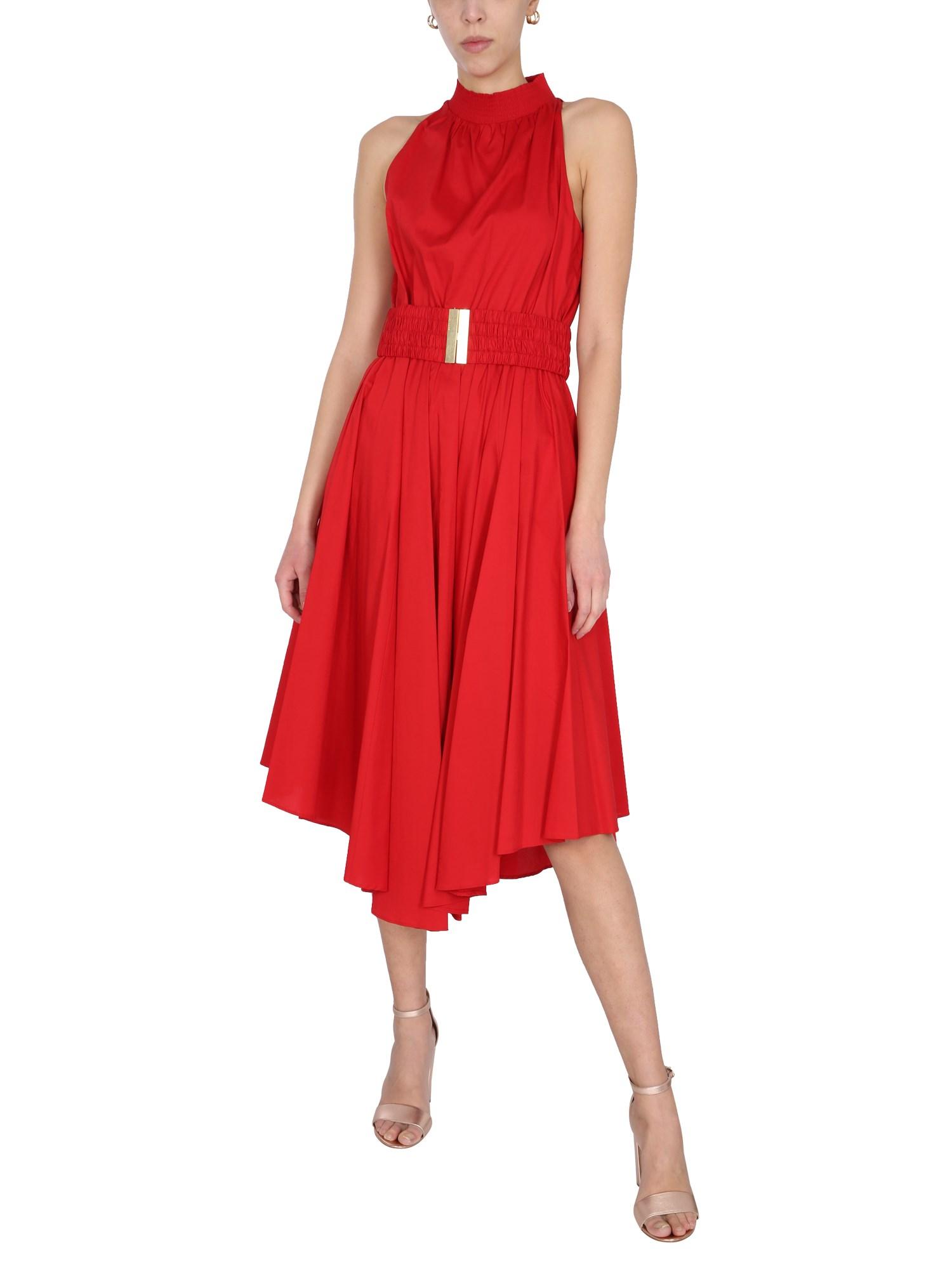 Cotton poplin dress - michael by michael kors - Modalova