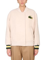 LACOSTE - GIACCA TEDDY OVERSIZE