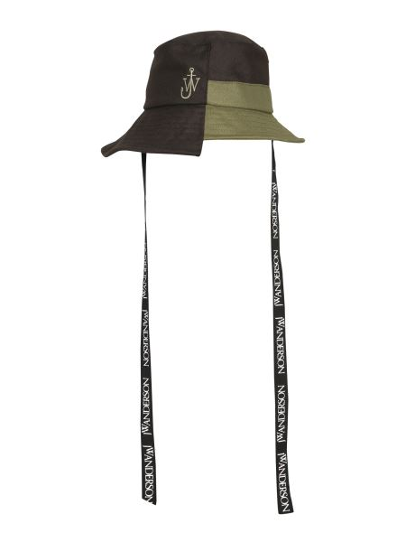 Jw Anderson - Asymmetric Fisherman Hat With Laces