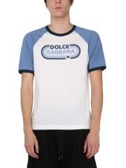 DOLCE & GABBANA - T-SHIRT CON LOGO
