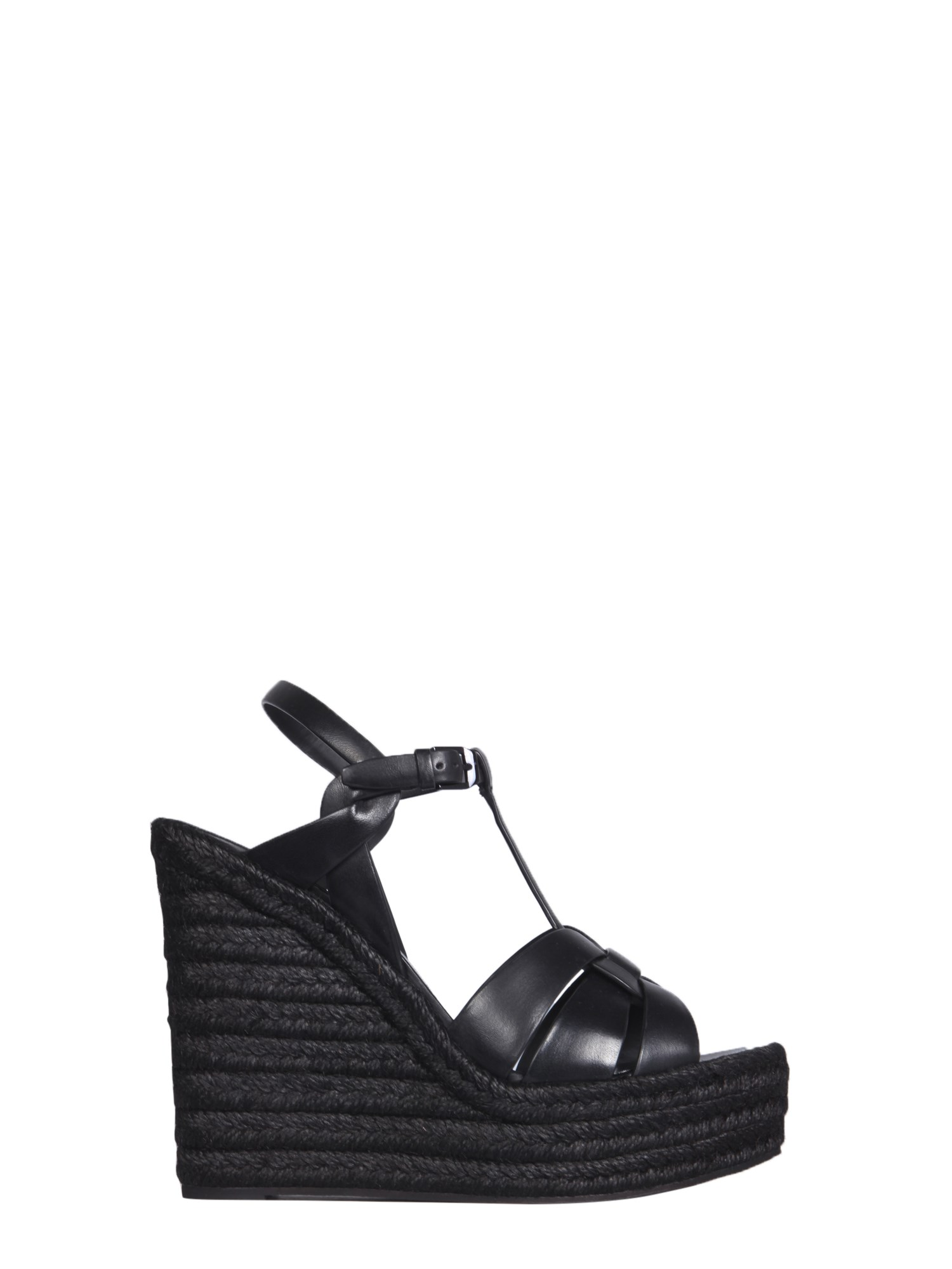 Saint Laurent TRIBUTE WEDGE ESPADRILLES