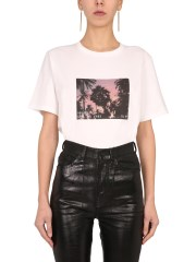 SAINT LAURENT - T-SHIRT CON STAMPA