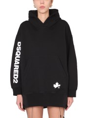 DSQUARED - FELPA OVERSIZE FIT