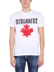 "DSQUARED - T-SHIRT ""MAPLE LEAF"""