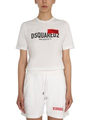 """DSQUARED - T-SHIRT """"RED TAG"""""""