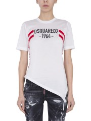 DSQUARED - T-SHIRT CON COULISSE