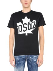 DSQUARED - T-SHIRT CON STAMPA LOGO