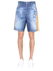 DSQUARED - BERMUDA RELAXED FIT