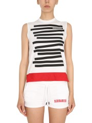DSQUARED - T-SHIRT CON STAMPA