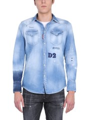 DSQUARED - CAMICIA IN DENIM