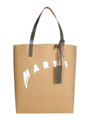 MARNI - BORSA SHOPPING CON LOGO DISTORTO