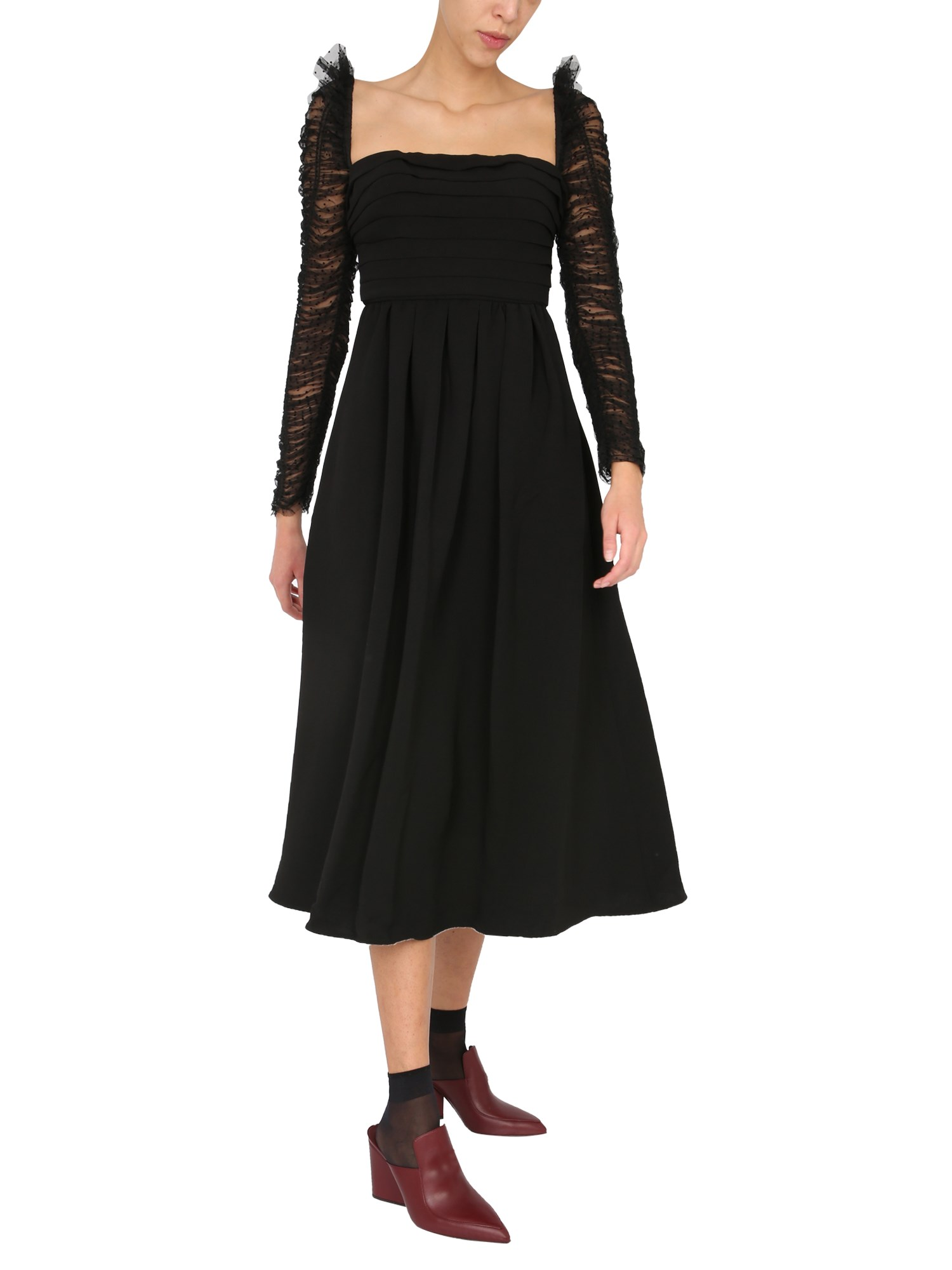 Self-Portrait MIDI DRESS