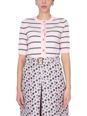 BOUTIQUE MOSCHINO - CARDIGAN A RIGHE
