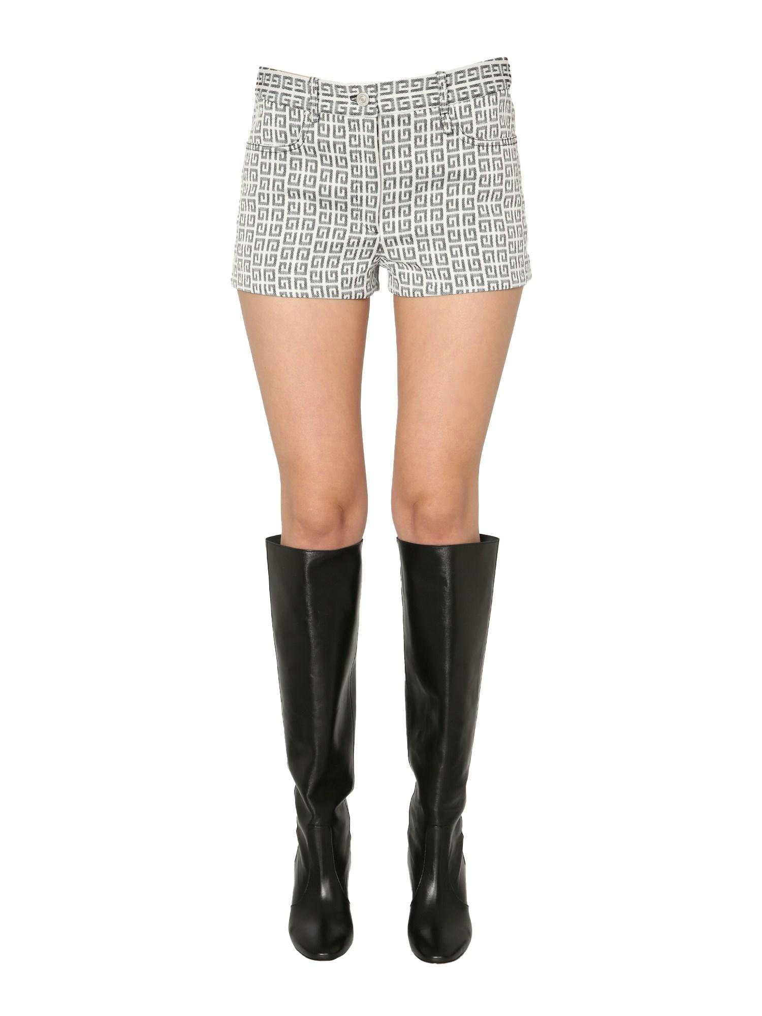 Givenchy Shorts 4G JACQUARD SHORTS
