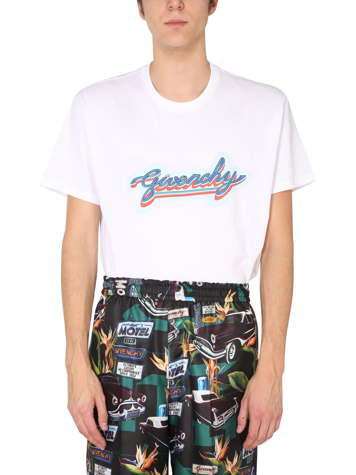 Givenchy T-SHIRT CON LOGO RETRO