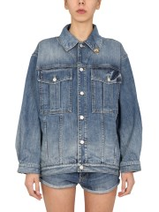 GIVENCHY - GIACCA OVERSIZE FIT IN DENIM