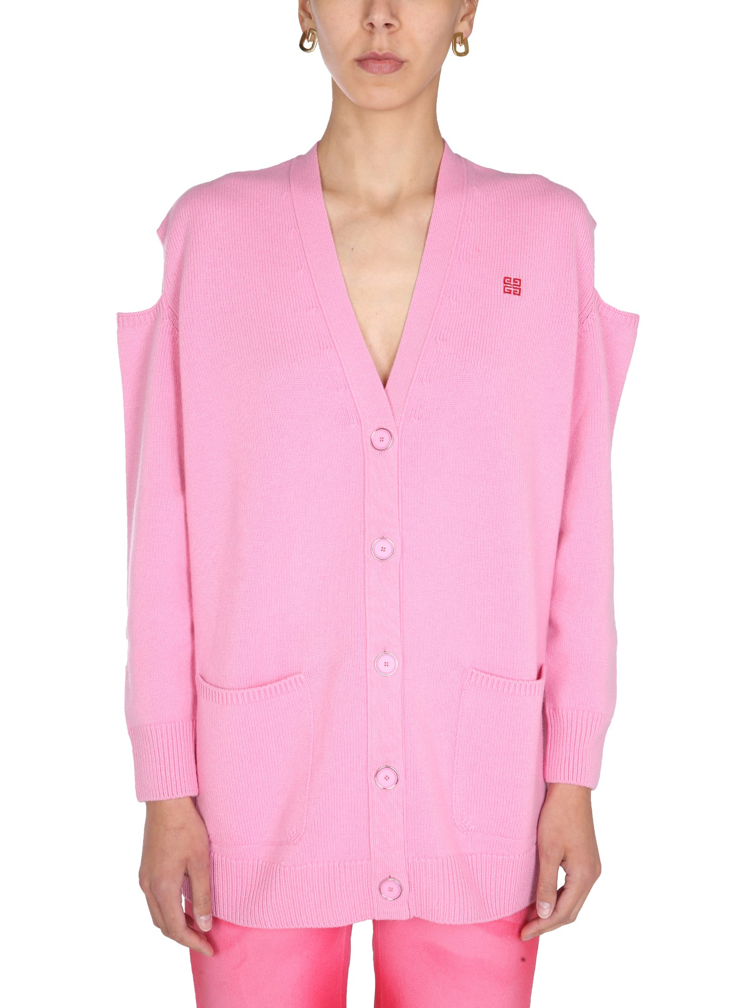 Givenchy Cardigans CUT OUT DETAILS CARDIGAN