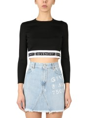 GIVENCHY - MAGLIA CROPPED