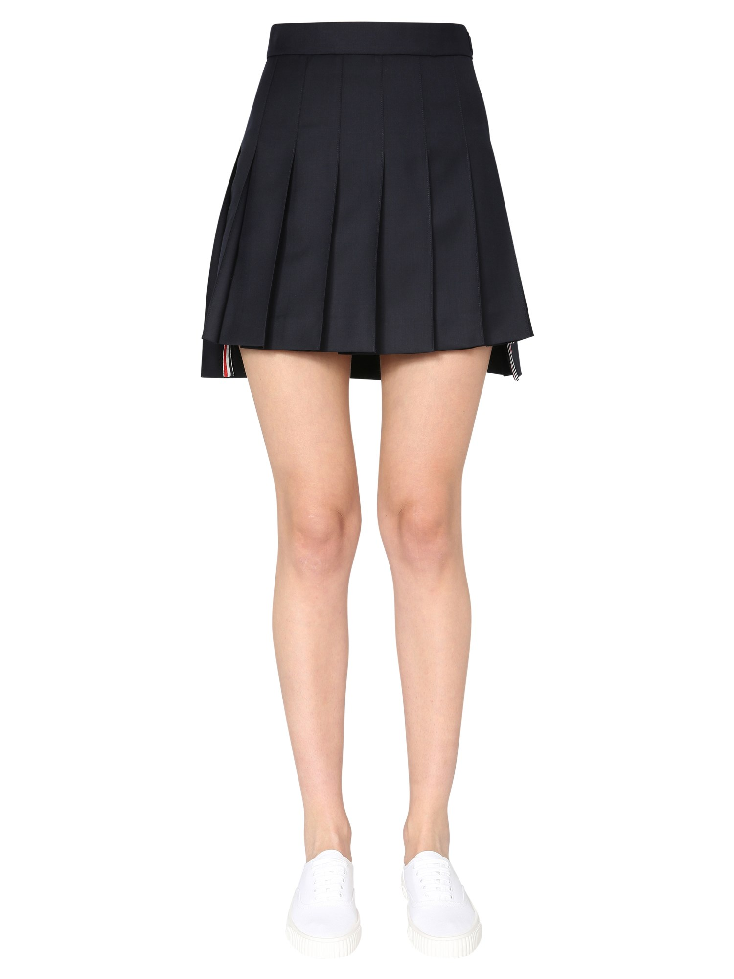 Thom Browne Clothing SHORT PLEATED SKIRT
