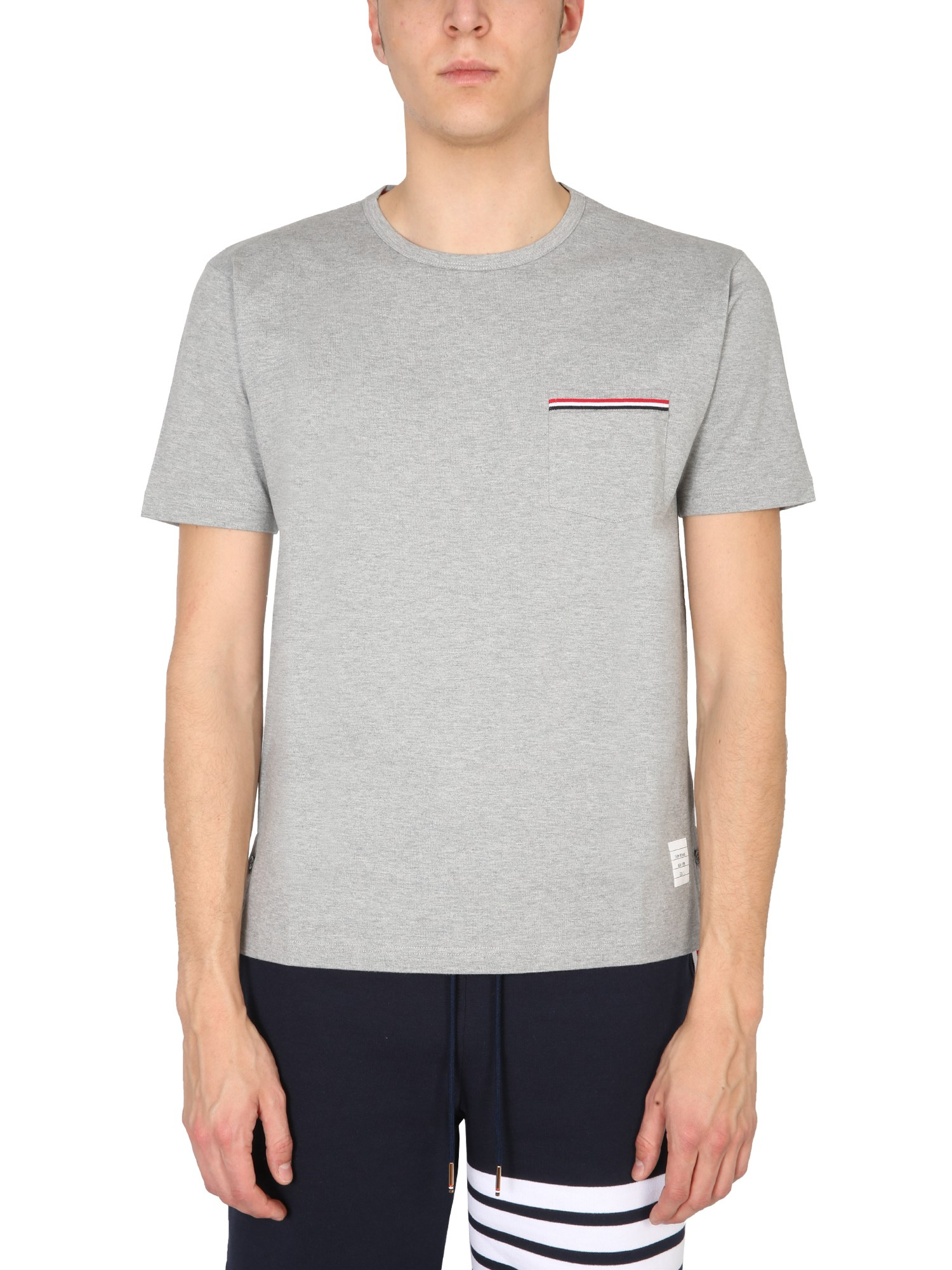 Thom Browne T-shirts T-SHIRT WITH POCKET