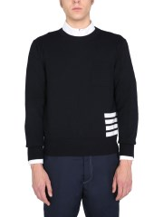 THOM BROWNE - MAGLIA RELAXED FIT