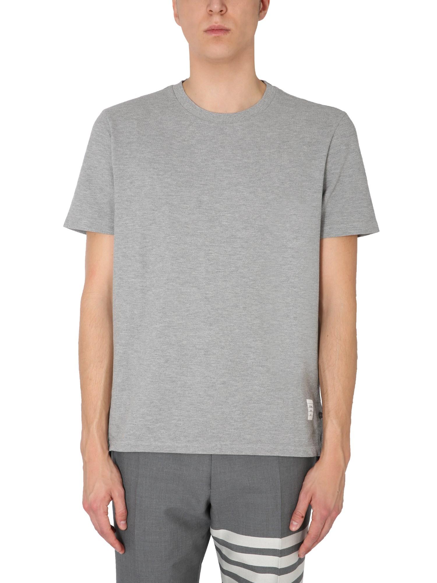 Thom Browne T-shirts COTTON PIQUÉ T-SHIRT